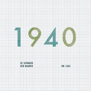 "RECENSIONE: De Gennaro/Der Mauer – 1940/19'40"""