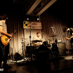 LIVE+PHOTO REPORT: Nadàr Solo @ Radio Popolare & 75 Beat [MI] – 14/2/2014