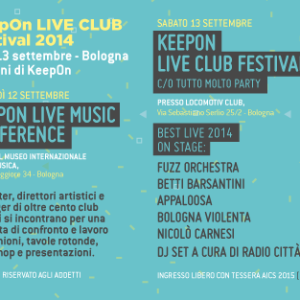 SPECIALE: KeepOn Live Club Festival, 12-13 Settembre