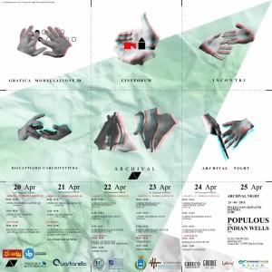 NEWS: ARCHIVAL I ED. FESTIVAL ARCHITETTURA DI MATERA 20-25/04/15