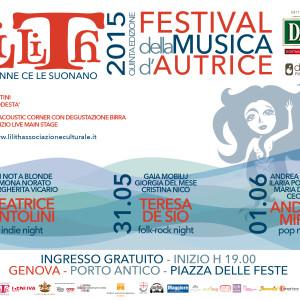 NEWS: LILITH FESTIVAL DELLA MUSICA D'AUTRICE 2015