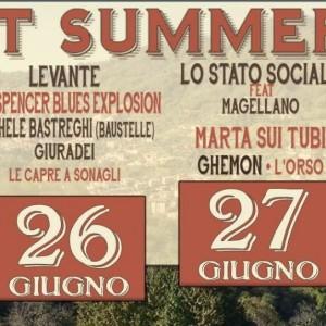 NEWS: FOREST SUMMER FEST 2015 – 25-28/06/15 – FORESTO SPARSO [BG]