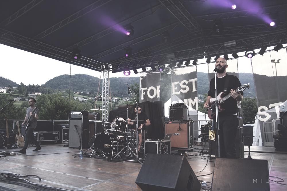 I Fratelli Calafuria sul palco del Forest