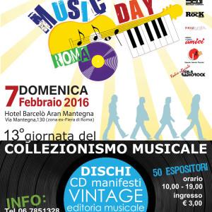 NEWS: MUSIC DAY – 7 FEBBRAIO 2016 , Roma