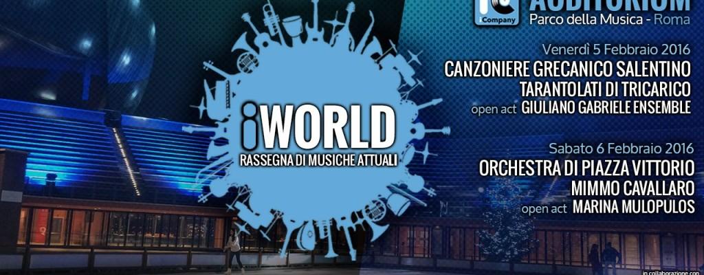 iWorld Rassegna di musiche attuali