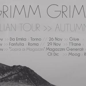 NEWS: GRIMM GRIMM IN ITALIA DA VENERDI 25 NOVEMBRE PER 6 DATE