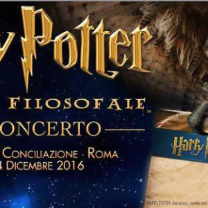 REPORT: HARRY POTTER IN CONCERTO CON L'ORCHESTRA ITALIANA DEL CINEMA @ AUDITORIUM CONCILIAZIONE (RM)