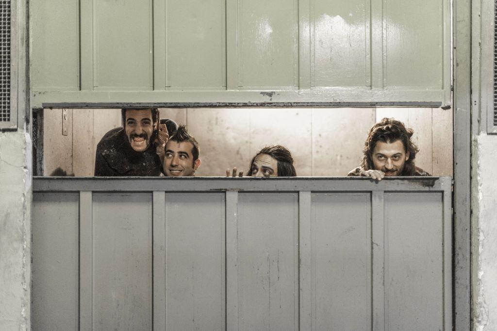 Le Mura sono: Andrea Imperi, Gabriele Proietti, Gabriele Correddu, Bruno Mirabella