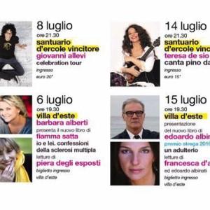 """EVENTI: """"TIVOLI CHIAMA! IL FESTIVAL DELLE ARTI"""" 2017, IL PROGRAMMA"""