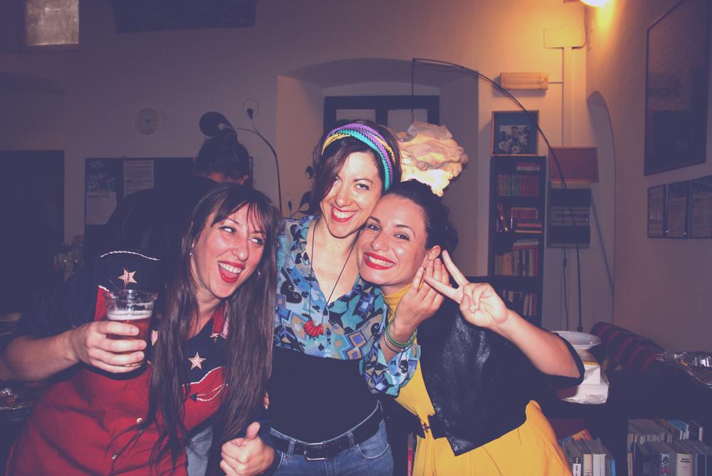 Quando c'è da divertirsi, Just Kids c'è (io, Maria Elisa e Valentina)